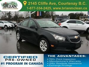2014 Chevrolet Cruze LS Bluetooth/Accident Free