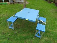 4 seat collapsible picnic bench
