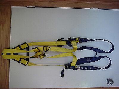 Dbi-sala Delta Vest Style Safety Harness Xxl Size 1101253 Mfg Nov 2013