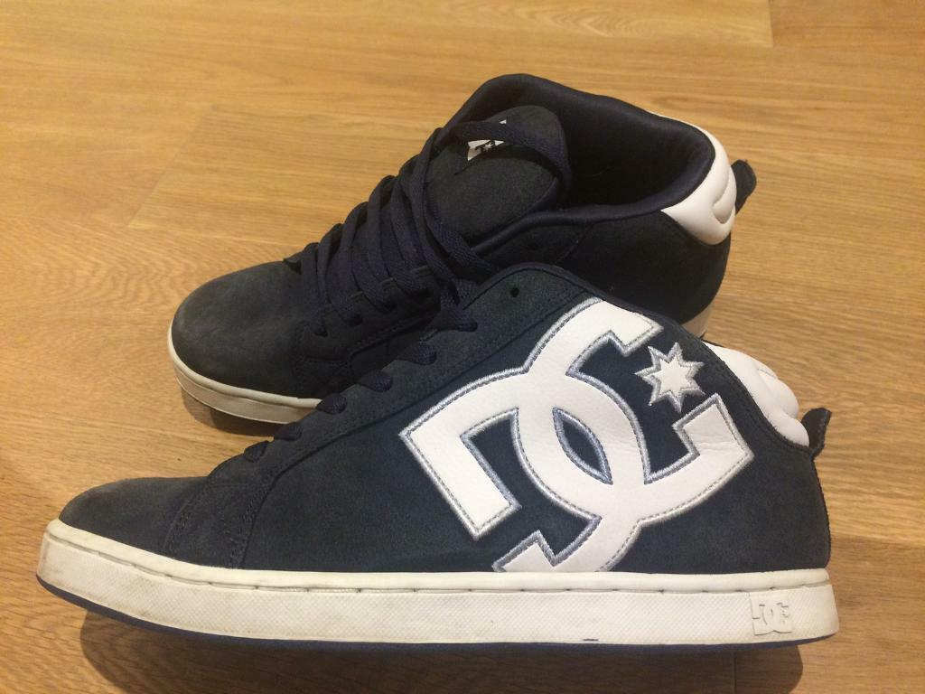 Men's DC Navy/White Trainers - UK 9 (EU 43)