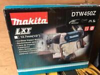 """NEW MAKITA DTW450z 1/2"""" IMPACT WRENCH ...Milwaukee dewalt Hilti"""
