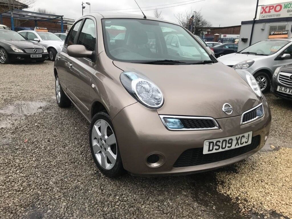 2009 nissan micra 1 2 16v acenta 5dr cat s 1previous owner low miles auto in manchester gumtree. Black Bedroom Furniture Sets. Home Design Ideas
