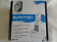 Amplified Big -Button Cordless Telephone.