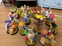 Nintendo amiibos x14