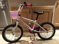 """Girls 16"""" Bike - Hello Kitty style from Halfords"""