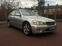 W REG LEXUS IS200 AUTO NEW MOT ALLOYS AUTOMATIC 1 OWNER