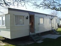 Privately owned Caravan for hire. White Horse Bunn Liesure £120-£545 per week