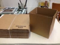 25 x solid cardboard boxes 8x6x6 inches