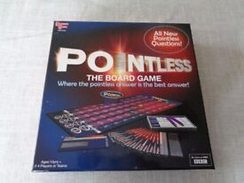 "BBC ""POINTLESS"" BOARD GAME As New Bargain Christmas Family Fun 10yrs and up"