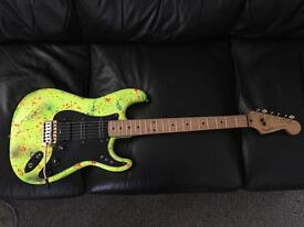 Beautiful customised partscaster Stratocaster.