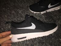IMMACULATE condition nike thea trainers size 3.5. Worn twice