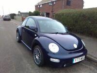 VW Beetle for sale, Baltik Blue.