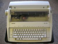 Typewriter Electric Brother AX 100 Excellent Condition