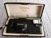 Olympus XA camera