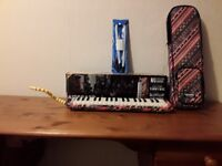 Hohner Melodica Airboard, 37 keys, Carry bag and mouthpieces.
