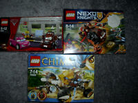 Lego 3 sets brand new in box 1 used but complete