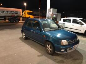 Nissan micra 2002 automatic with full service history and mot till April 2018