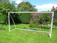 Samba Goal 12 x 6 ft. A little sun faded in places and the net has holes... Doh!