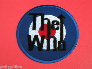 THE WHO RAF SCOOTER MOD JAM TARGET SEW/IRON ON PATCH