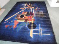 Large modern rug carpet