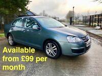 Volkswagen Jetta (Golf Passat A3 A4 Leon 320d) £99 per month