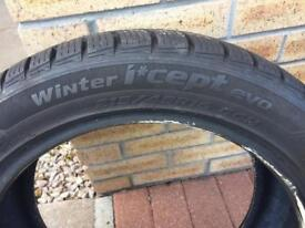 Hancook winter tyres x2 215/45R16