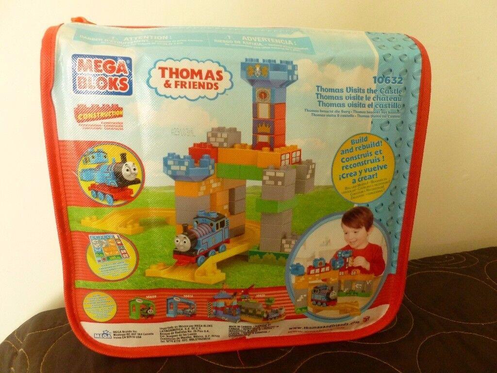 thomas tank and mega blocks