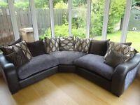 Corner Fabric Sofa - Like New