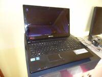 nice intel i3 laptop with FREE laser printer