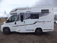 Benimar Mileo 201 Motorhome for sale Low Profile Fixed Bed Four Belted Seats 2017 Model