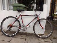 Vintage raleigh bike 18inch frame nunhead collection