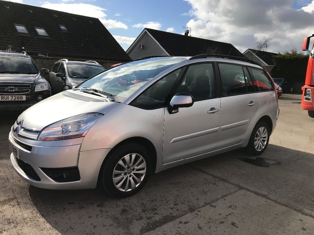 09 citroen c4 grand picasso 1 6 hdi vtr 7 seater p ex welcome in belfast city centre belfast. Black Bedroom Furniture Sets. Home Design Ideas