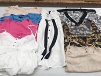 Ladies tops/vest bundle size:12/14 vgc