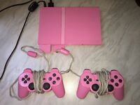Pink PlayStation 2 for sale!