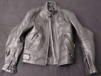 Riossi Armoured Cowhide Leather Jacket