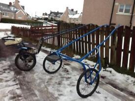 Aluminium race cart