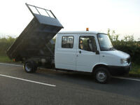 2005 LDV CONVOY DOUBLE CAB TIPPER TRUCK 2.4 TD ONLY 52000 MILES FROM NEW 11 MONTHS MOT NO VAT TO PAY