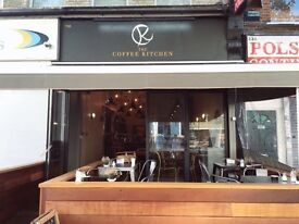 Sandwich Maker, Barista Wanted, Experience Needed, Good English speaking. Kilburn