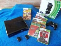 Xbox 360 250Gb Mint/Excellent condition and boxed