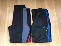 2 x Men's Adidas Training Pants Size 32-34 Waist