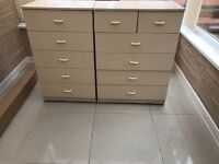 Cream chest of drawers for sale ONO