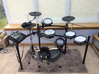 Roland TD12 V-Drums / Electronic Drums / Drum Kit - Great Condition *Plus Hi-Hat Stand & Kick Pedal