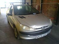 Peugeot 206 quick sale