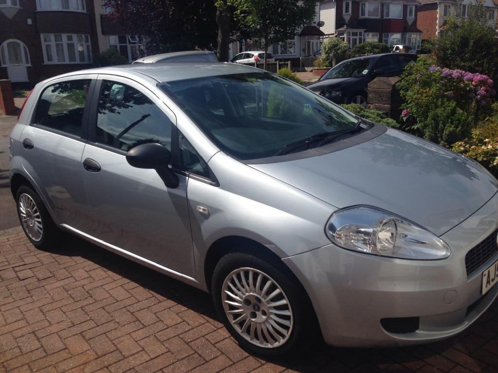 fiat punto grande 2006 silver in quinton west midlands gumtree. Black Bedroom Furniture Sets. Home Design Ideas