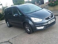2009 FORD GALAXY 2.0 TDCI ZETEC FULL HISTORY LOW MILES LONG MOT MINT CAR NO ISSUES BARGAIN MONDEO