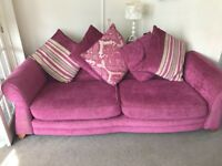3 SEATER SOFA AND CHAIR FREE!!!