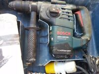 Bosch proffesional sds hammer drill with braker action GBH3-28DFR 110v