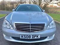MERCEDES-BENZ S CLASS 3.0 S320 CDI 7G-Tronic 4dr (silver) 2008