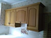 Wooden Kitchen Units and Cupboard Doors