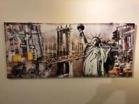 4 New York design canvases